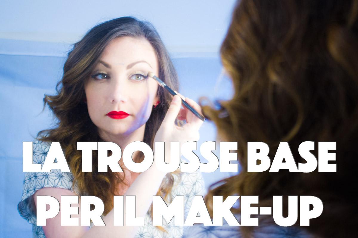 trousse base makeup trucco teatrale