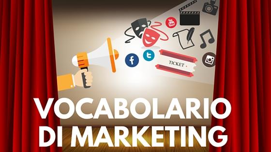 Vocabolario di Marketing Culturale