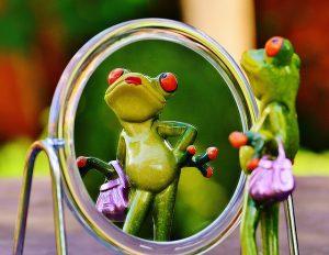attore allo specchio