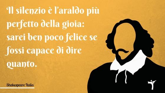 Citazione Shakespeare, da Molto rumore per nulla