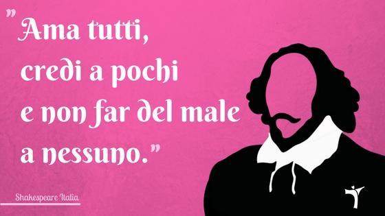 Citazione Shakespeare da Amleto
