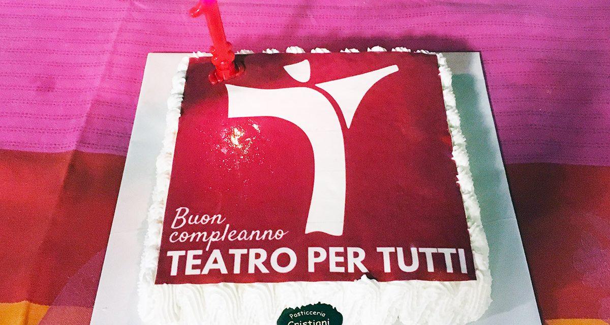 Buon Compleanno Teatro per Tutti!