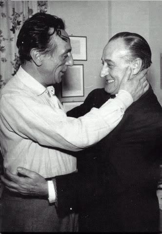 Eduardo De Filippo e Totò