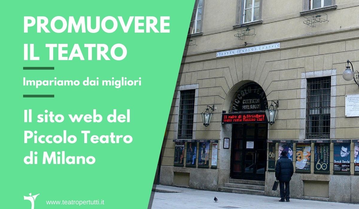 Promuovere il Teatro