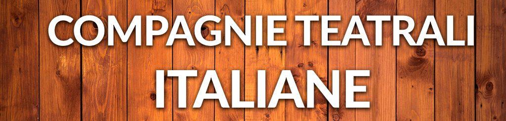 compagnie teatrali italiane