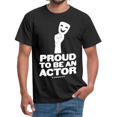 orgoglioso di essere un attore