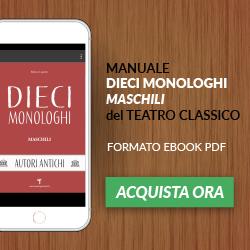 Monologhi Maschili autori antichi
