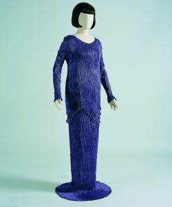 moda anni dieci peplos