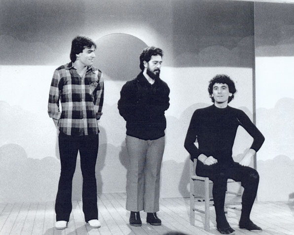 """Il trio """"La Smorfia"""""""