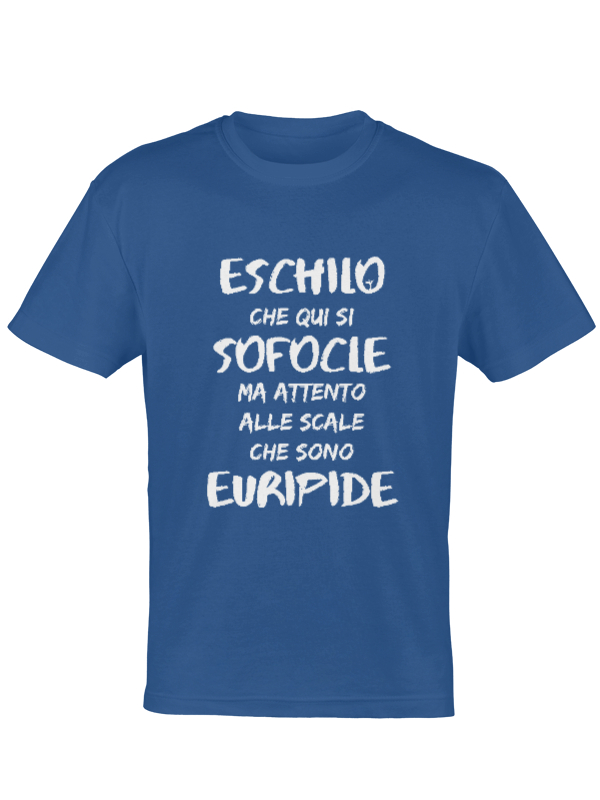Maglietta autori greci