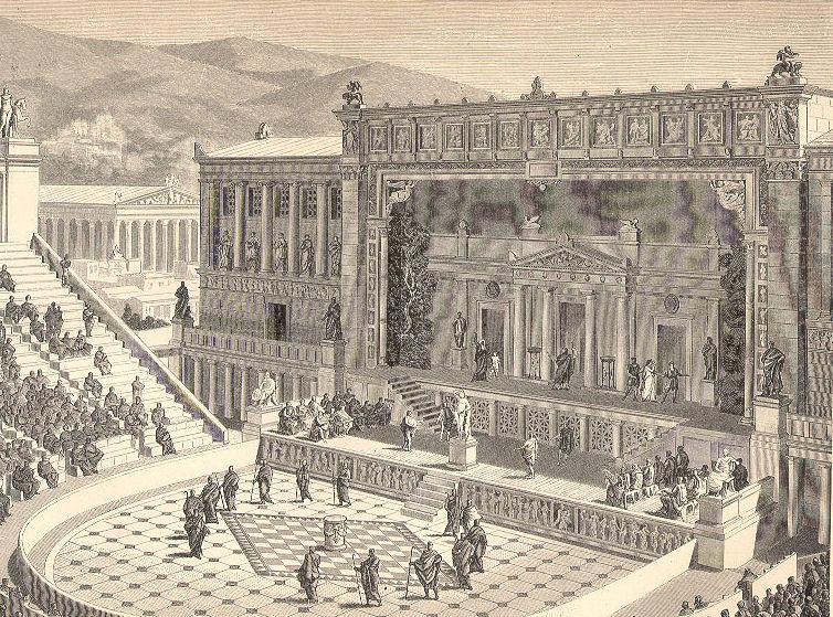 Teatro Dioniso Atene