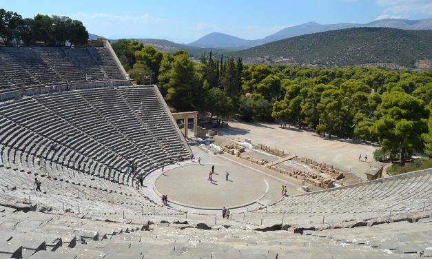 Andare a teatro nell'antica Grecia