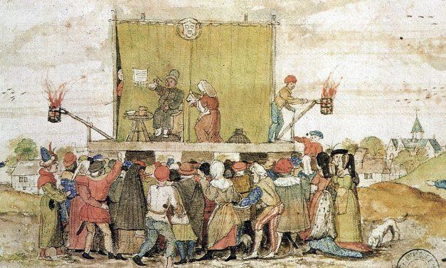 Andare a teatro nel Medioevo
