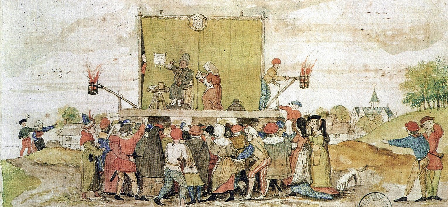 teatro nel medioevo