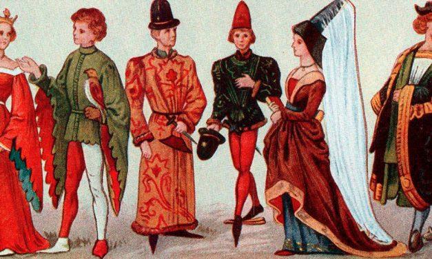Costume Teatrale: Il Basso Medioevo