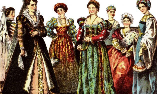 Costume Teatrale: la Moda del 1500 (XVI secolo)